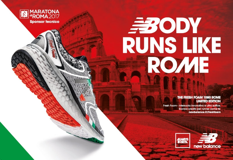 Maratona di Roma - NB presents the new 1080 Fresh Foam Rome, ispired ...