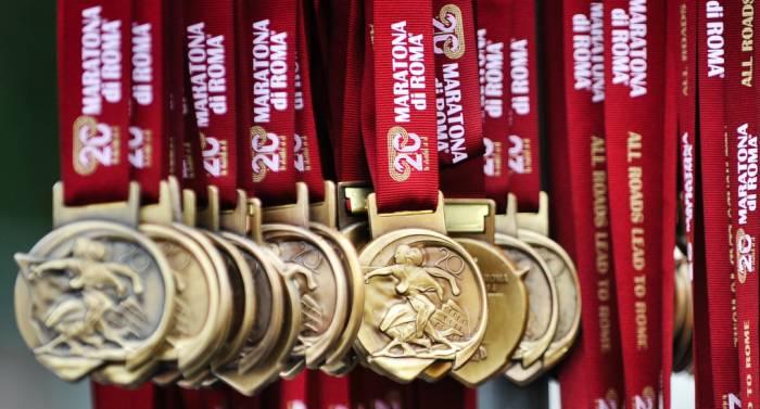 Premio Medaglia Maratona Di Roma 2017