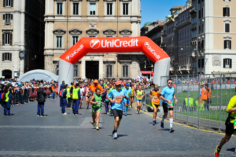 maratona di roma - con unicredit, partecipare alla maratona di roma