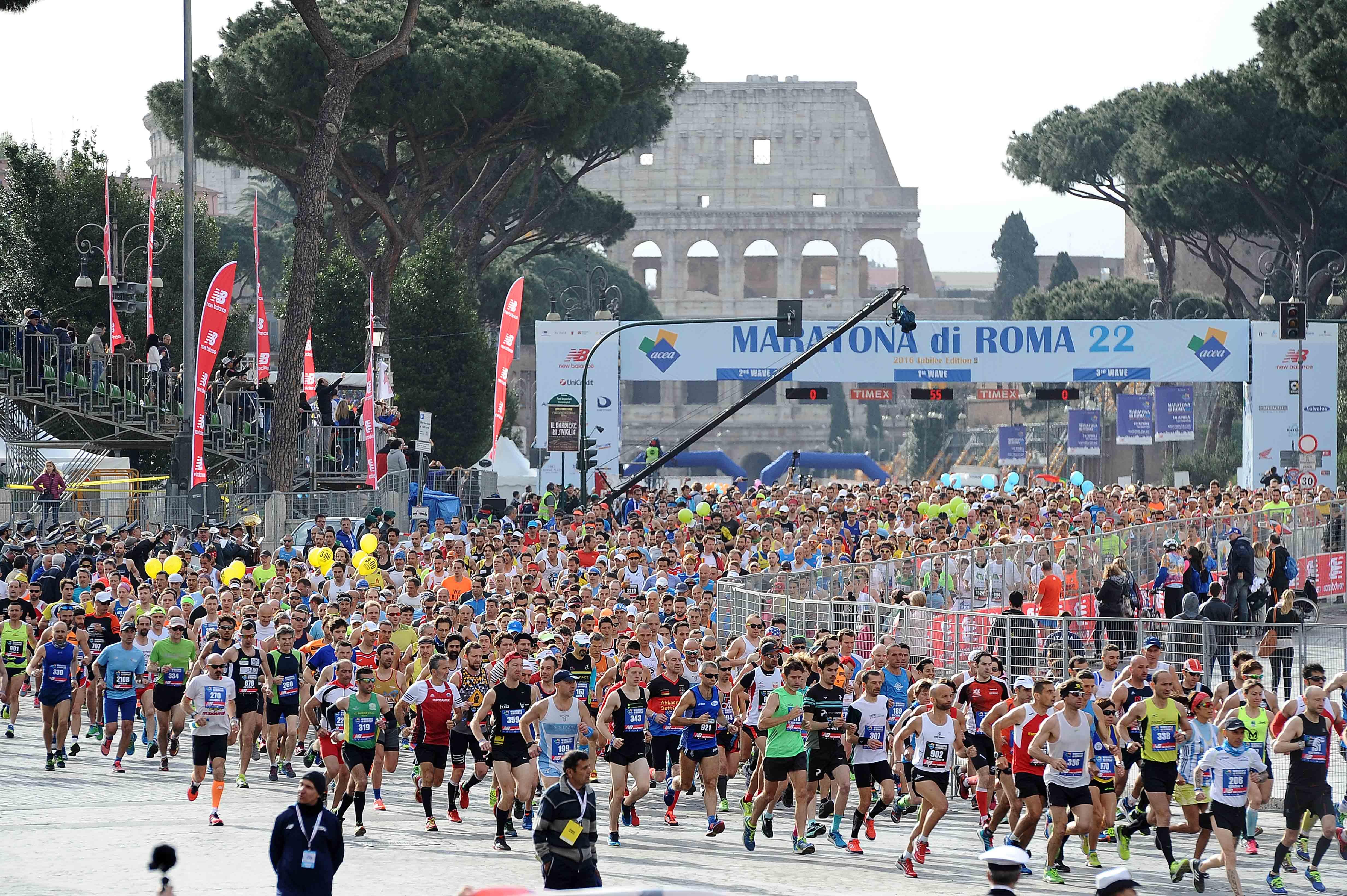 new balance rome marathon 2018